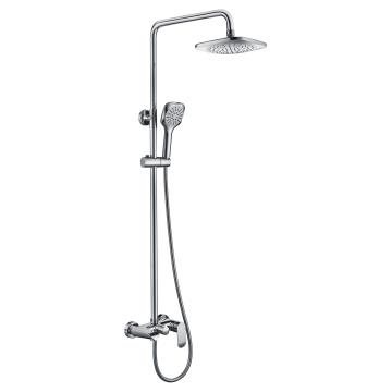 Shower head set with tub shower and spray