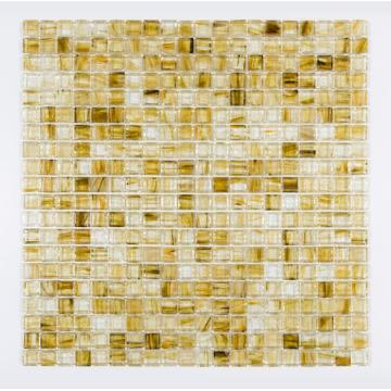 yellow honey berry glass mosaic