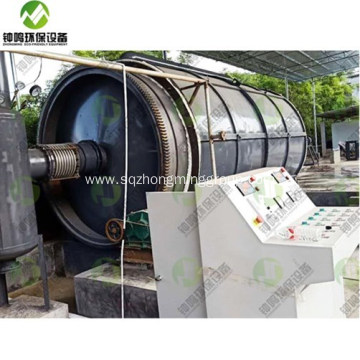 Waste Tire Recycling to Diesel Equipment