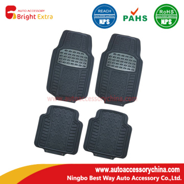 New! Shiny Metallic Pad Car Floor Mats