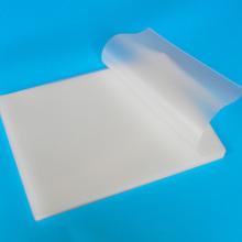 70mic A4 heat-coated PET EVA plastic film for laminating machine plastic plastic film protection card film photo protection film
