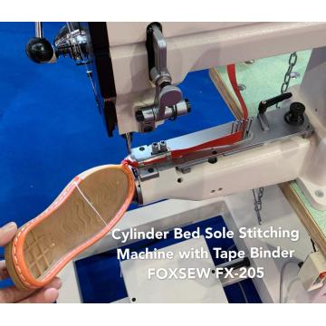 Cylinder Bed Shoes Sole Stitching Machine