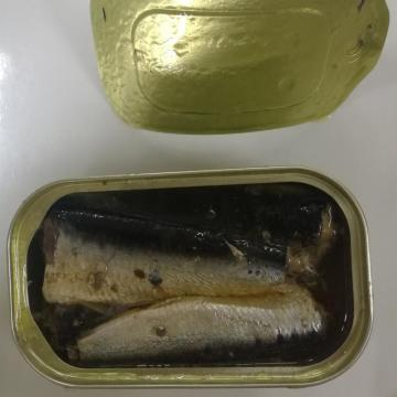 Canned Sardine In Sunflower Oil 125grams