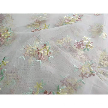 Polyester Flat Embroidery for Woman Dress