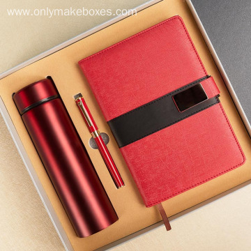 Thermos and notebook gift box
