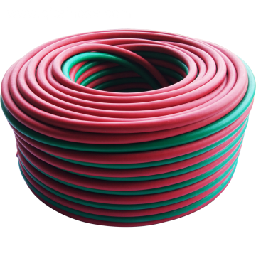 Plastics 8mm flexible twin welded air gas hose