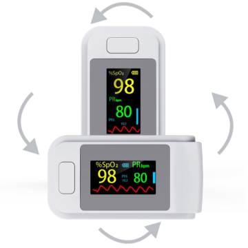 Rapid Measurement Blood Oxygen Saturation Pulse Oximeter
