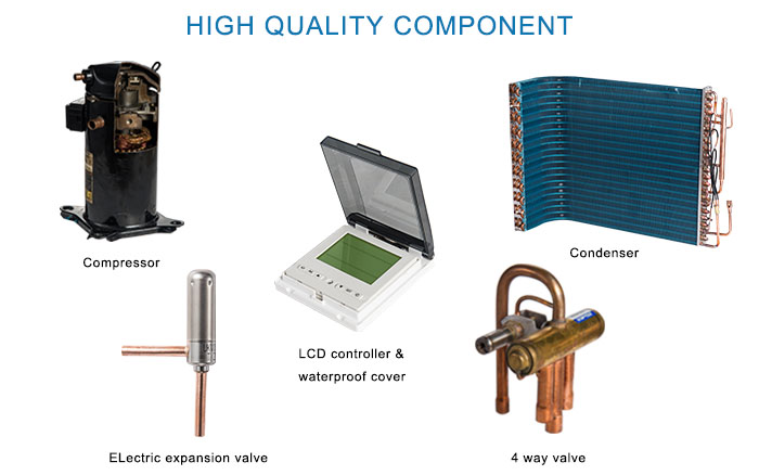 Super Low Noise Heat Pump