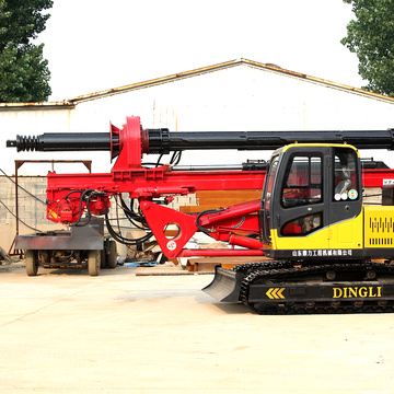Small hydraulic rotary drilling rig for sale
