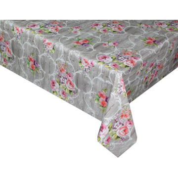 Pvc Printed fitted table covers Walmart