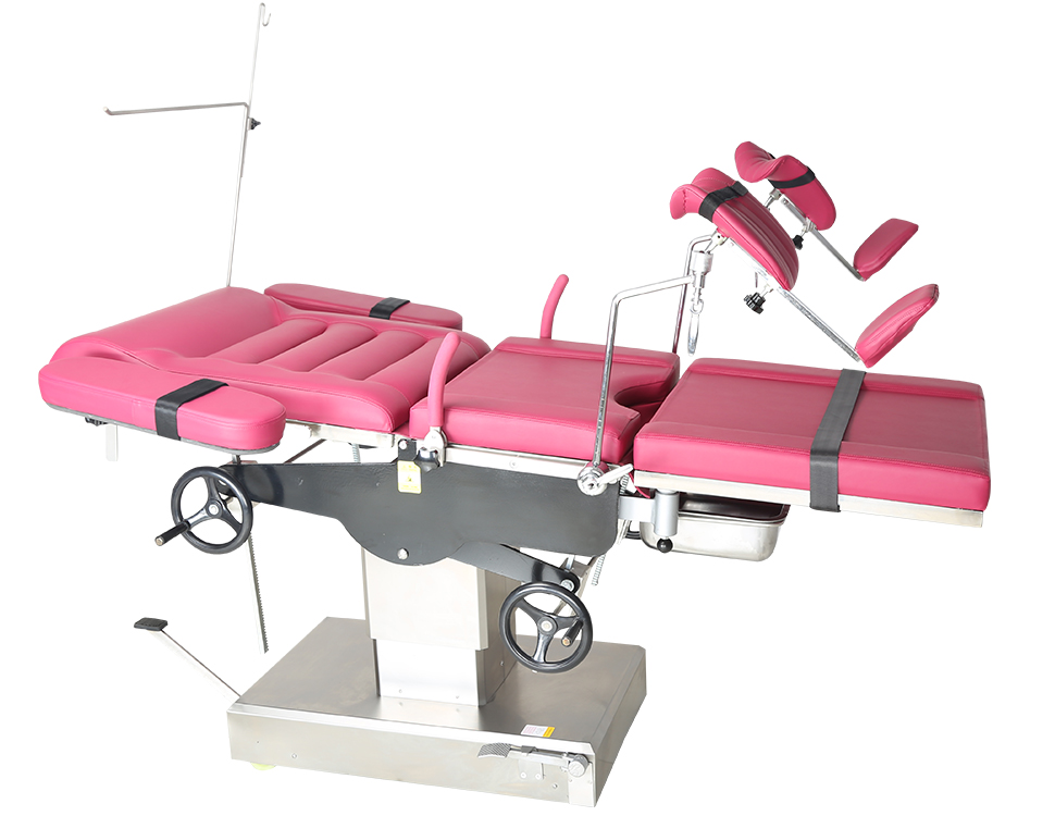 Manual Gynecological examination table ajustable