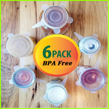 Useful Food Grade Silicone Cup Lid