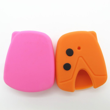 2Buttons Silicone Car Key Cover pour Proton Wira