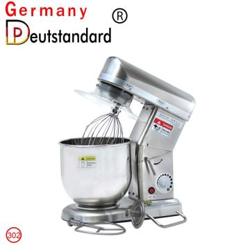 Commercial food mixer electric stand mixer7L with CE