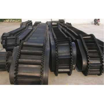 Belt Conveyor With Corrugated Sidewall