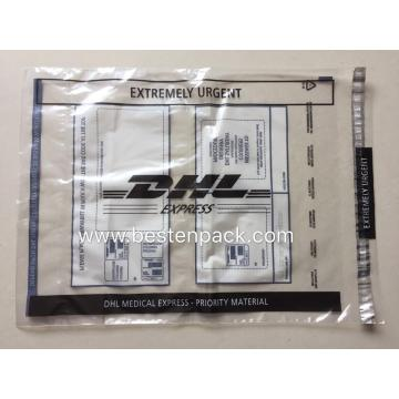 DHL PE-LD Medical Express Large Envelope