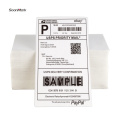 Dymo 4x6 blank fanfold labels for shipping labels