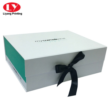 Luxury Large gift magnetic box with ribbon