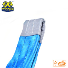 Endless Polyester Flat Webbing Sling 1-10Ton Weight Lifting Belt
