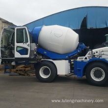 Self Loading Concrete Mixer Agitating Truck Price