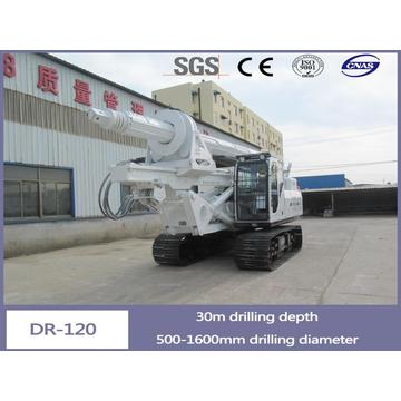 Dr-120 Full Hydraulic Rotary Drilling Rig Machine