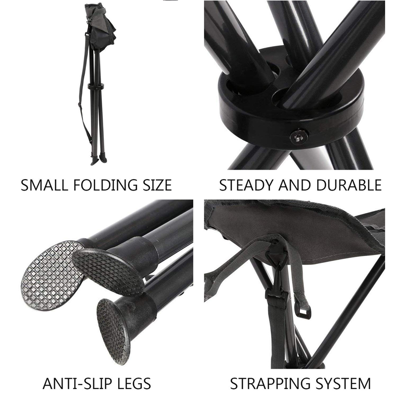 Folding Tripod Stool Constructure