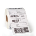 Customized direct thermal blank barcode labels paper