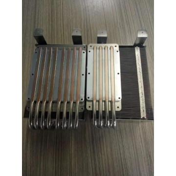Copper Pipe Aluminum Fin Heat pipe Heatsink