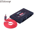 Car Cassette Tape Adapter Cassette Mp3 Player Converter For iPod For iPhone MP3 AUX Cable CD Player 3.5mm Jack Plug