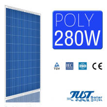 280W Poly Solar Module with Nano Coated Self Cleaning