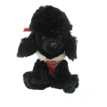 Plush Poodle Black Toy