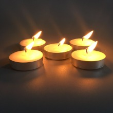 Long Burning Time No Drpless Tealight Candle Polybag