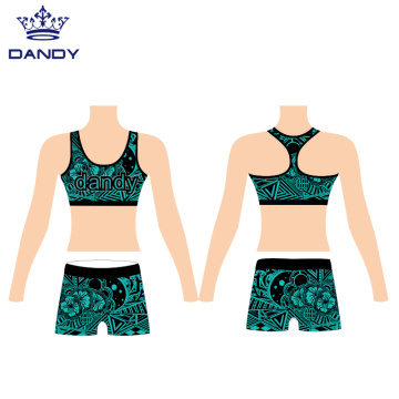Cheerleader Dance Practice Outfits