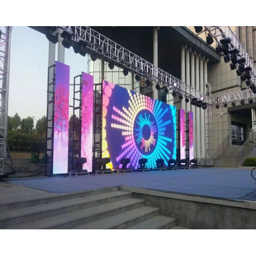 P3.91 500x1000mm Outdoor Rental Led Display