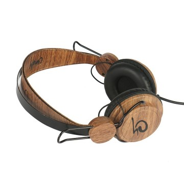 New Design Customized logo Wooden Headphones