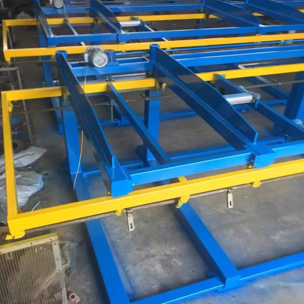 Electric Automatic roll forming machine Pallet Stacker