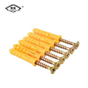 Nylon plastic expansion screw