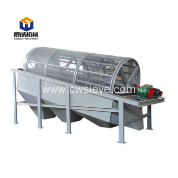 New design simple structure revolving drum sieve