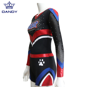 Red Mystique Cheer Dance Costume