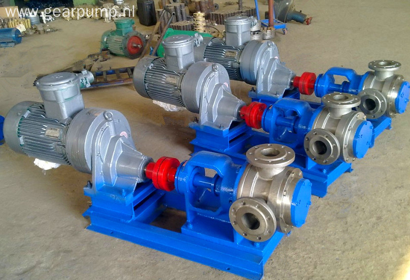 Electric high viscosity molasses transfer pump