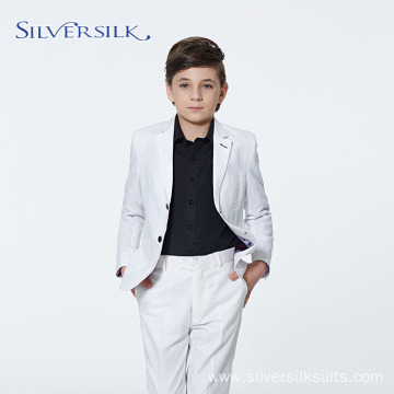 High Fashion Blazers Party Children White Boy Suits