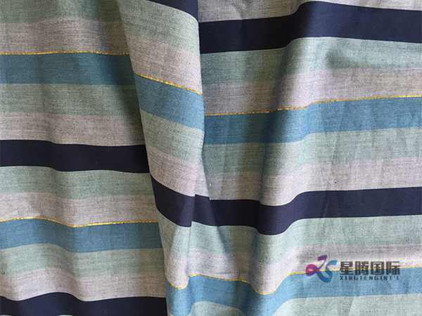 Yarn Dyed Printed Fabric