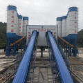 New technology stationary 90m3/h concrete batching plant