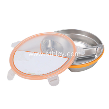 Durable High Quality Stainless Steel Divided Food Container
