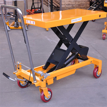300kg-2000kg hydraulic scissor lift trolley
