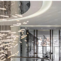 Decoration style Glass luxury chandelier