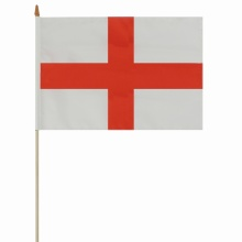 Custom size England national  hand held flag