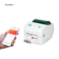 Bluetooth thermal printer mac compatible barcode printer