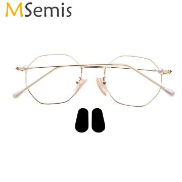 12 Pairs Soft Foam Glasses Nose Pads Self Adhesive Anti-Slip Eyeglass Parts Sunglasses Nose Padding Men Women Eyewear Accessory
