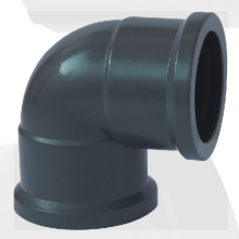 NBR5648 Water Supply Upvc Elbow 90° Grey Color